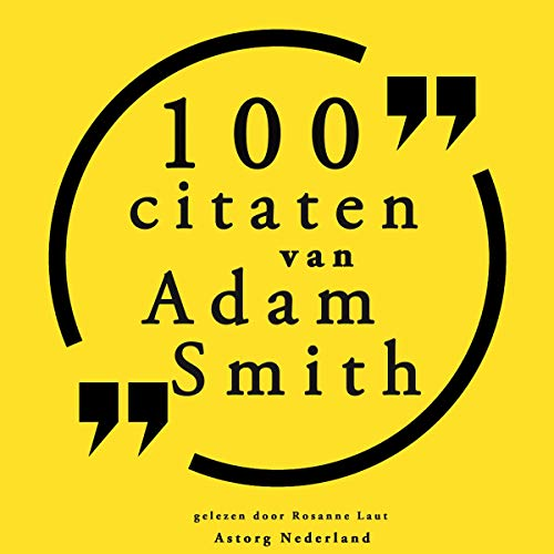 100 citaten van Adam Smith  By  cover art
