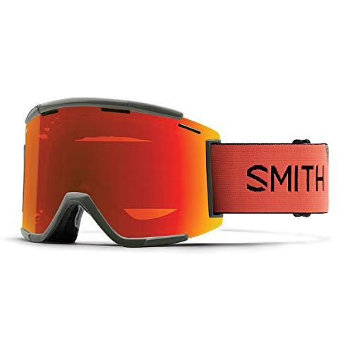 Smith Unisex's SQUAD MTB XL GOGGLES Mountain Bike, SAGE RED Rock, Medium