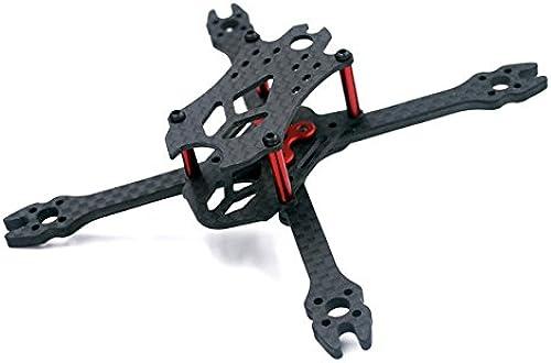 JINHUGU Kit Cadre VX110 110mm empatteHommest 3mm Bras 3K Fibre de voiturebone X Type for RC Drone FPV Racing Accessoires de Jouets