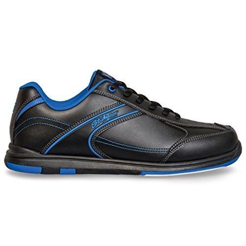 KR Strikeforce Y-020-040 Flyer Bowling Shoes, Black/Mag Blue, Size 4