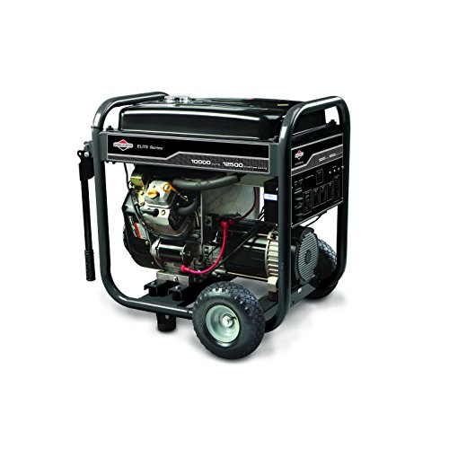 Hot Sale Briggs & Stratton 30207 10,000 Watt 570cc Gas Powered Portable Generator With Wheel Kit and Electric Start