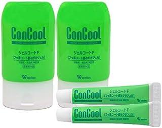 コンクール ジェルコートF 90g×2本+お試しジェルコートF 5g×2本 歯磨きジェル むし歯予防 歯周病