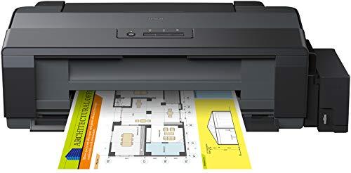 Epson EcoTank ET-14000, Impresora color (inyección de tinta, con tecnología Micro Piezo), color negro