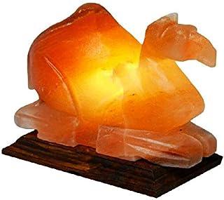Camel Salt Lamp - Himalayan Natural Salt - Large Size - Artistic HandiCraft HandMade Decorative Lamp
