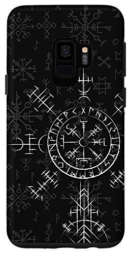Galaxy S9 Celtic Lucky Charm Viking Compass Vegvísir - Celtic Vegvisir Case