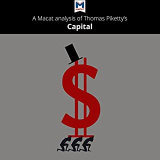 A Macat Analysis of Thomas Piketty's Capital in the Twenty-First Century audiobook cover art