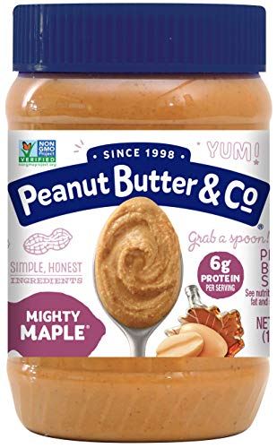 Peanut Butter & Co Mighty Maple -- 16 oz