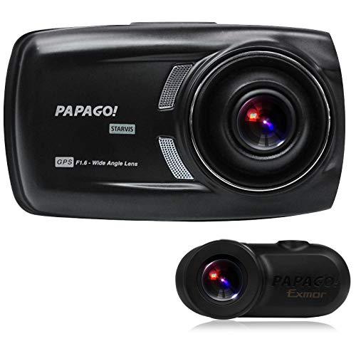 前後2カメラにSONY センサー搭載フルHD高画質オールインワン・ドライブレコーダー GoSafe S70GS1 GSS70GS1-...