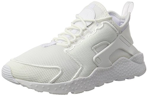 Nike Damen WMNS Air Huarache Run Ultra Br Trainer, Elfenbein (White/White/Glacier Blue), 40.5 EU
