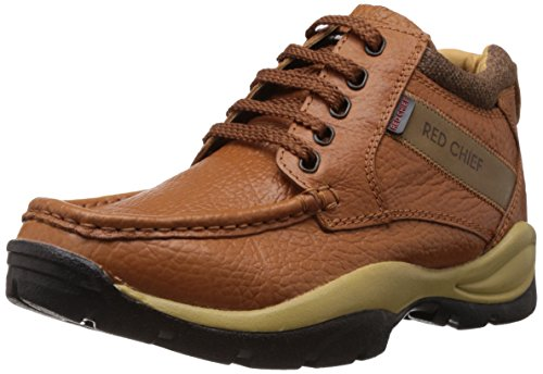 Redchief Men's Brown Leather Trekking and Hiking Footwear (RC2051-8 UK)