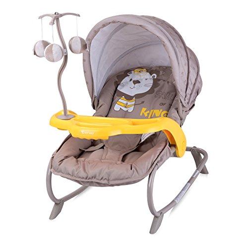 Lorelli Dream Time-Liegeschaukel für Baby Beige
