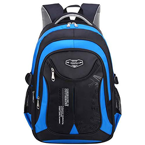 OuTrade School Backpack Great for School Casual Daypack Travel Outdoor Camouflage Backpack for Boys and GirlsBlack