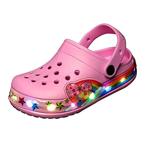 Niños Niñas LED Sandalias con Luces
