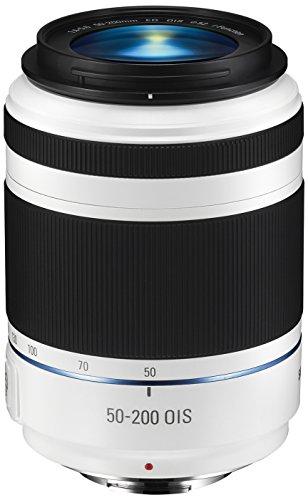 Samsung EX-T50200CSW i-Function Objektiv 50-200 mm F4-5.6 ED OIS III für Samsung NX-Serie weiß