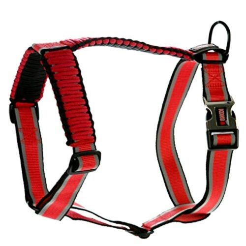 KONG Reflective Paracord Harness Red X-Small
