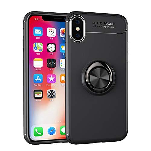 Momoxi Handyhülle, Phone Accessory Handy-Zubehör Für iPhone XS Max Autohalterung Magnetkoffer mit Ring-Ständerhalter 6,5 Zoll, begrenzte Anzahl