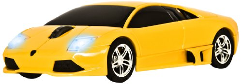 Road Mice Lamborghini Murcielago Wireless Optical Mouse (HP-11LGMCYXA)