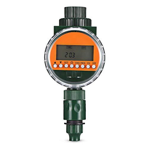 Automatischer intelligenter Bewässerungstimer Bewässerungssteuerung Elektroventil Regensensor LED-Anzeige Elektronischer Bewässerungstimer Garten Typ 1
