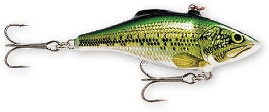 Rapala Rattlin' Rapala 08 Fishing lure, 3.125-Inch, Baby Bass