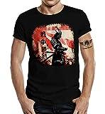 Camiseta de manga corta para fans del Samurai Tokio Samurai II XL