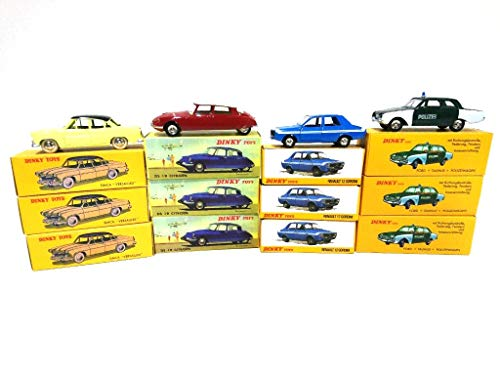 Atlas Lot of 12 Dinky Toys Citroen Renault Ford Simca