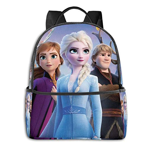 Anime Elsa Backpack Classic Large Caity AntiTheft Durable Men Women Backpacks Suitable for School Travel Work Laptop Bag