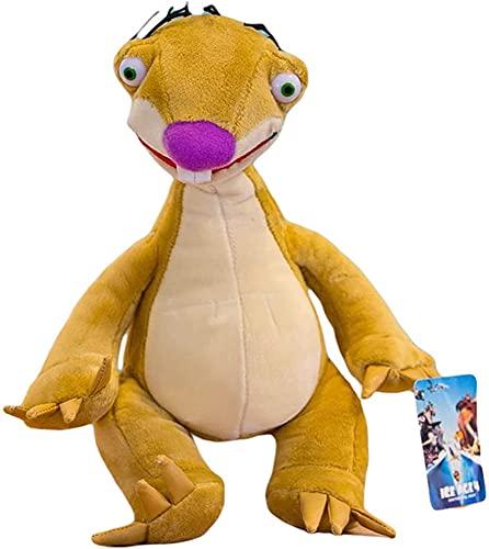 7.8 Inch Ice Age Cartoon Movie Plush Toy Sid Manny Diego Scratte Soft Plush Doll Children's (Sloth)