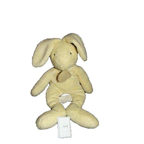 Babynat–Doudou Babynat conejo beige amarillo 25cms–1447