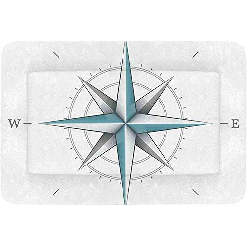 YAGEAD-Kompass-einfaches Haustier-Bett, antikes Windrose-Diagramm für Kardinal-Richtungs-Achse der Erde Illustration