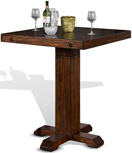 "AAP 36"" Pub Table with Adjustable Height (with 2 Matching bar stools)"