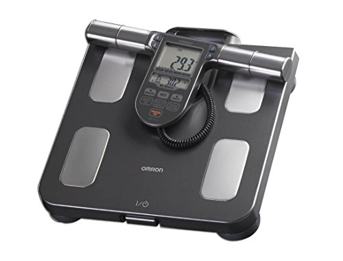 Omron Healthcare HBF-514C Electronic Personal Scale Negro báscula baño - Báscula de baño (Báscula Personal electrónica, 150 kg, 100 g, Negro, 4 Usuario(s), LCD)
