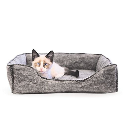 KH 775205 Amazin' Kitty Katzenliege mit Kapuze, wärmereflektierendes Katzenbett