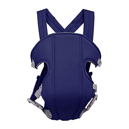 LYXCM Babytrage Hüftsitz, Baby-Kleinkind-Gurt-Taillen-Schemel-Art Und Weise Einfacher Vier Jahreszeiten-Universalvorderer Umarmungs-Rückseiten-Schulter-Multifunktionsgurt,Blue