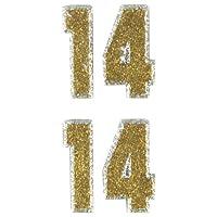 ヴィクトリーシール(MINI 2)金銀 DV0062614 表示ナンバー:14