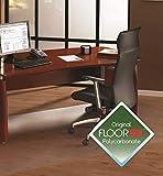 Floortex Bodenschutzmatte, hochtransparent, 150 x 200 cm