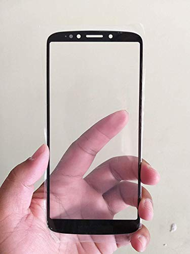 MrSpares Front Screen Outer Touch Glass Cover Panel Lens for Motorola Moto E5 Plus : Black