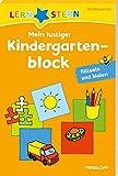 Mein lustiger Kindergartenblock. Rätseln und Malen ab 3 Jahren