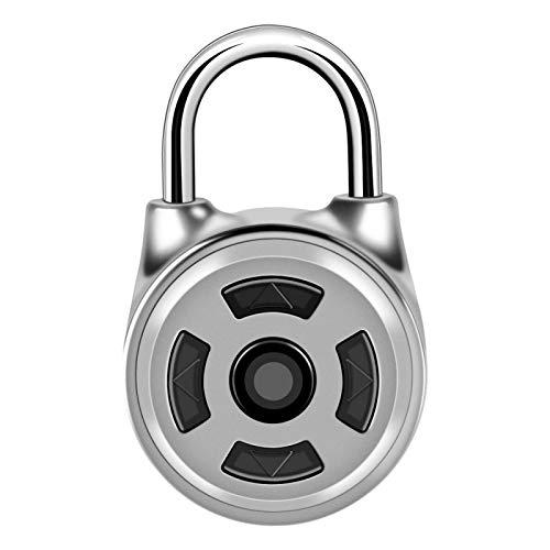 Candado Bluetooth, cerradura segura con contraseña, candado electrónico inalámbrico, cajones para guardarropas, para maletas de almacén