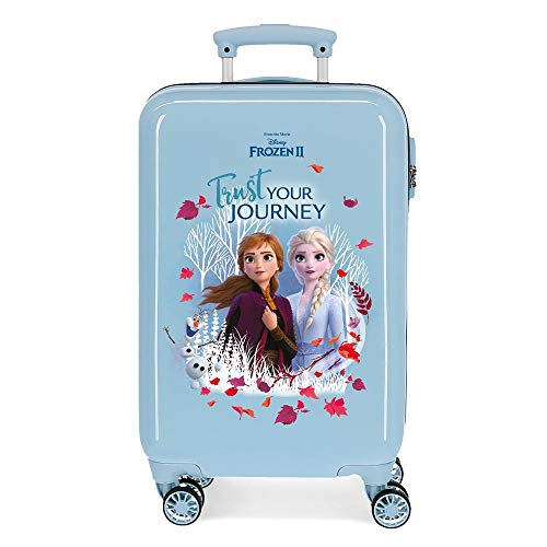 Maleta de cabina Trust your journey rígida 55cm Frozen II