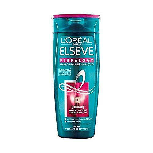 L'Oréal Paris Elvive Fibralogy, shampoo creatore di materia 250ml,Set di 4