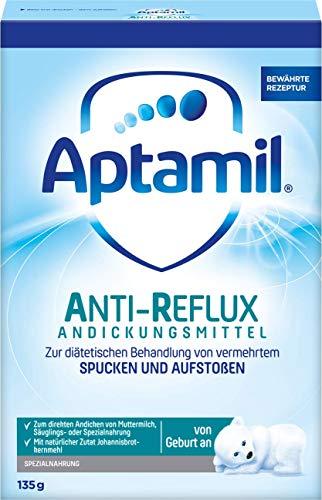 bester Test von anti reflux nahrung Geburts-Aptamyl-AR-Verdickungsmittel, 6 Packungen (6 x 135 g)