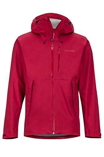 Marmot Men's Magus Lightweight Waterproof Rain Jacket, X-Large, Brick