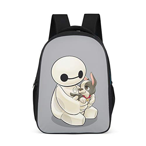 Large Hero and Dog Fashion Children's Backpack School Book Bag Backpack for Children Adults Gift for Boys Girls