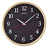 SEIKO Pared Analógico Cuarzo Relojes de Pared de Plástico QXA731A