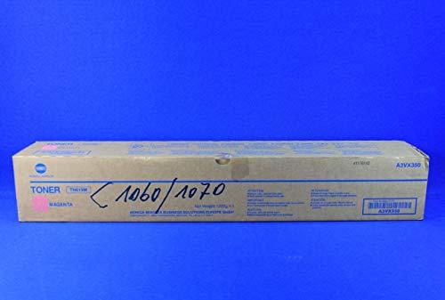 Konica Minolta TN-619M Original Magenta 1 pieza(s) - Tóner para impresoras láser (78000 páginas, Magenta, 1 pieza(s))