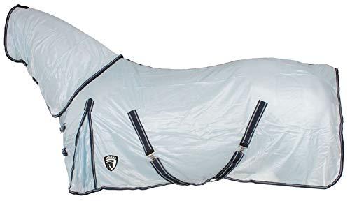 Horka anti-vlieg tapijt volledige afneembare nek & gratis vlieg masker paard bescherming vel