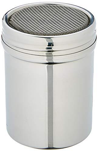 DE BUYER 4782.01N - Espolvoreador de Acero Inoxidable con Rejilla de Tela metálica (diámetro 8 cm)