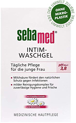 Sebamed Intieme wasgel met de pH-waarde 3,8 mm, 2-pack (2 x 200 ml).