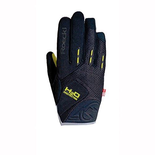 Roeckl Erwachsene Moro Handschuhe, Schwarz, 9