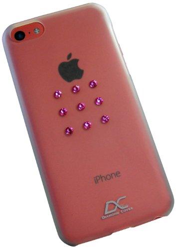 Diamond Cover 305127 Rose Star - Funda para Apple iPhone 5C, diseño...